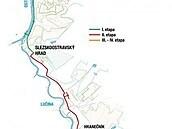Mapa kanalizačního sběrače.