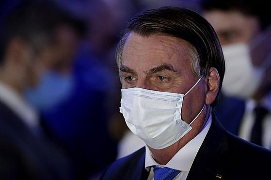 Brazilskı prezident Jair Bolsonaro. (28. duben 2021)