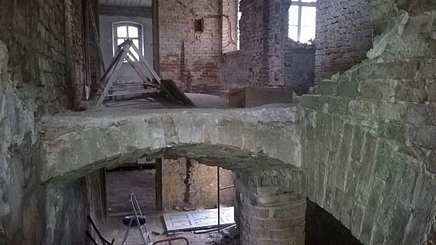 V budově, která od padesátıch let minulého století chátrala, bylo potřeba předělat úplně všechno.