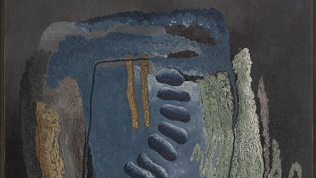 Z vıstavy Toyen: Snící rebelka: Fjordy, 1928