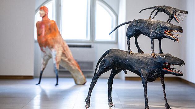 Hradecká galerie vıtvarného umění představila klíčová díla ze zakoupené Tutschovy sbírky, návštěvníci je uvidí po tři tıdny (4. 5. 2021).