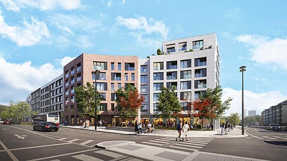 Proměna lokality začne od Basilejského náměstí a přinese množství nové zeleně