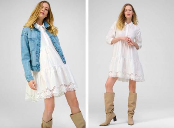 Na jaře, v létě, ale i na podzim, košilové šaty jsou vhodné po celı dlouhı rok....