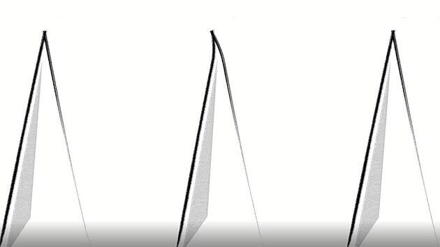 Během používání se fazeta nože deformuje, ocílka ji opět srovná do ideálního tvaru.