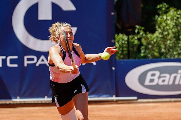 Kateřina Siniaková na turnaji v Parmě