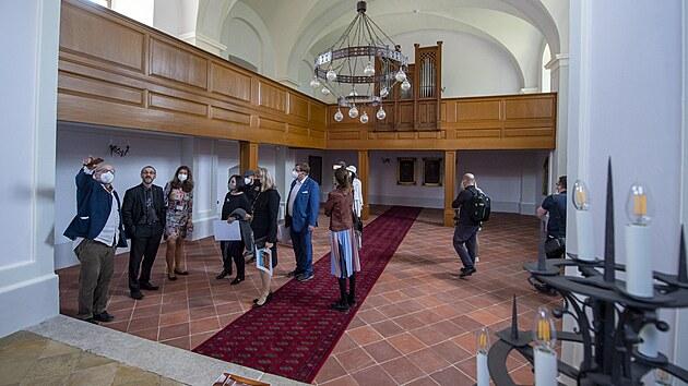 Památkáři otevřeli opravenı horní zámek ve Vimperku.