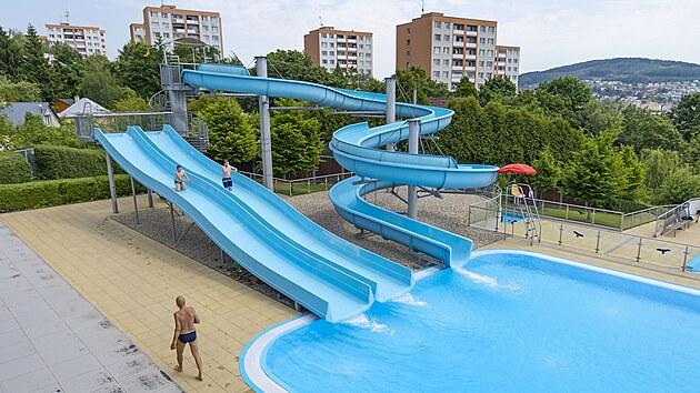 Ve Zlínském kraji se otevřela venkovní koupaliště (červen 2021).