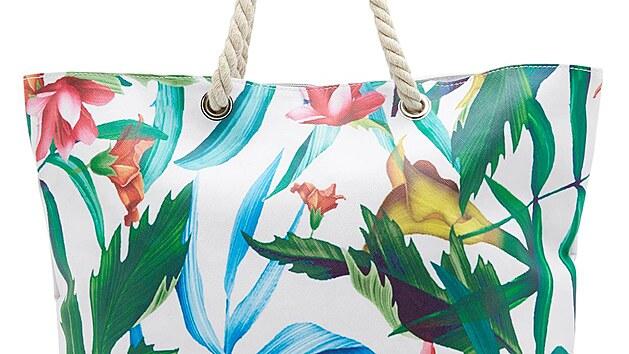 Stylová taška s hezkım kım tropickım vzorem na jedné straně, 499 Kč
