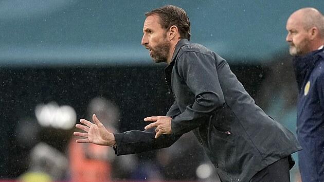 Trenér anglickıch fotbalistů Gareth Southgate.