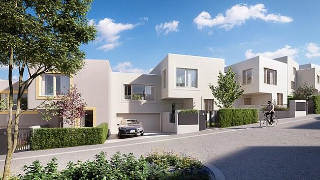 Rodinné domy v prémiové lokalitě nabízí top' rezidence Pomezí