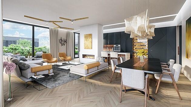 Luxusní byty na Ořechovce připravené k nastěhování