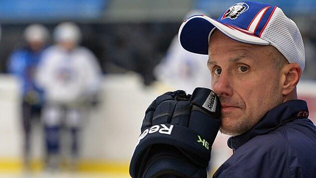 Martin Straka jako trenér hokejové Plzně