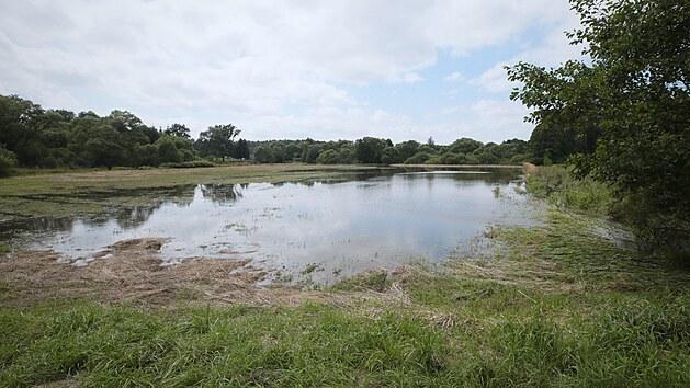 Blesková povodeň na Českolipsku zaplavila Zákupy i další obce v okolí vodních toků.