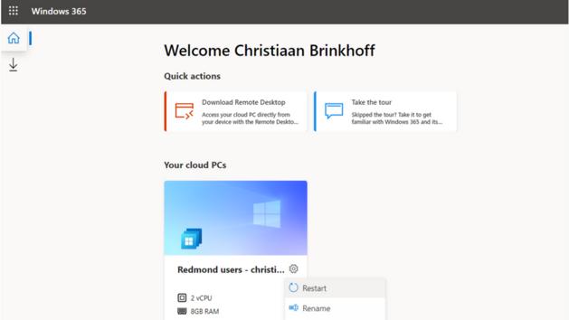 Systém Windows 365