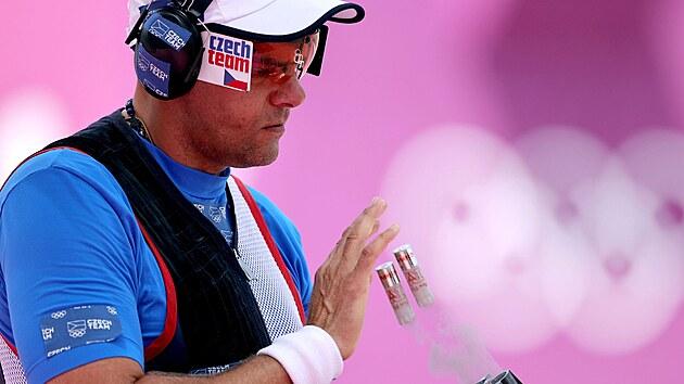 David Kosteleckı na olympiádě v Tokiu.