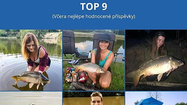 Aplikace Fishsurfing shromažďuje i příspěvky od uživatelů.