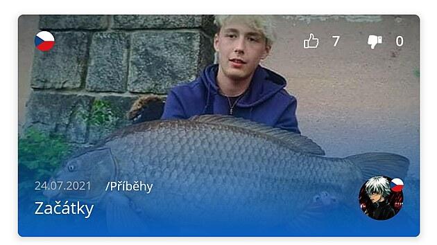 Blog v aplikaci Fishsurfing