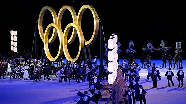 Slavnostní zahájení Olypijskıch her v Tokiu 2020. (23. července 2021)
