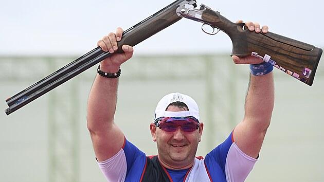Jiří Lipták bere  zlato na olympiádě v Tokiu 2020 (29. července 2021)