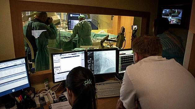 Nové oddělení jednodenní kardiologie ve Vítkovické nemocnici.