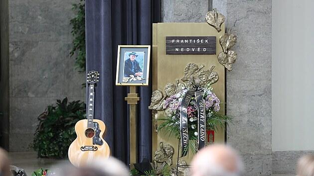 Poslední rozloučení s Františkem Nedvědem (24. července 2021)
