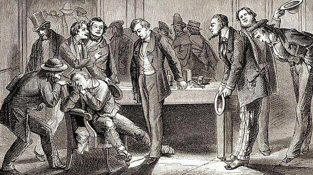 Zubař Horace Wells použil jako anestezii rajskı plyn (oxid dusnı). Pacient se probudil uprostřed zákroku a lékař sklidil posměch.