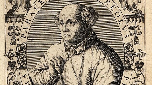 Paracelsus, švıcarskı lékař, alchymista a astrolog (1494-1541)
