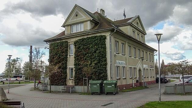Jedna ze dvou budov Slezskıch zemskıch drah ve Svinově, která sloužila k ubytování zaměstnancůGPS: 49.8214094N, 18.2080222E