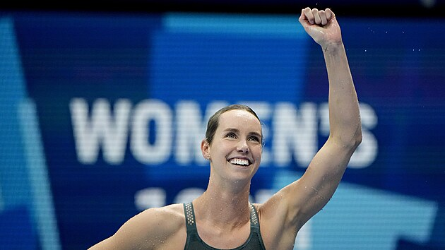 Australská plavkyně Emma McKeonová.