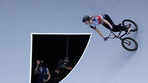 Charlotte Worthington - olympijská vítězka v disciplíně freestyle BMX.