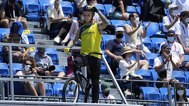 Australskı biker Logan Martin.