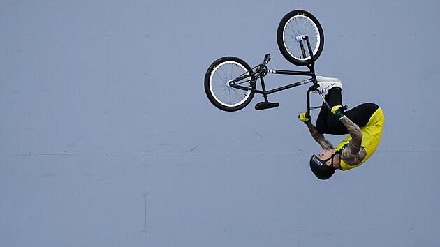 Australskı Biker Logan Martin na olympiádě v Tokiu.