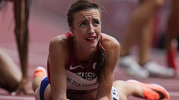 Ačkoli by tomu vıraz ve tváři Diany Mezulianikové příliš nenasvědčoval, probojovala se do semifinále olympijského běhu na 1500 metrů.