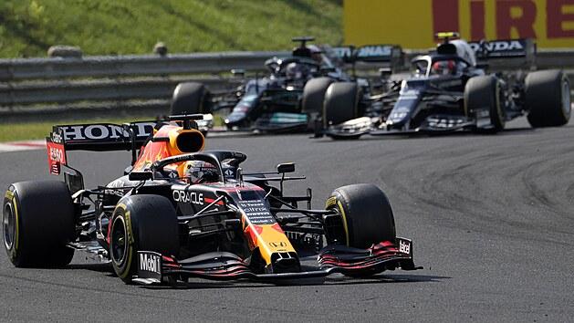 Max Verstappen z Red Bullu ve VC Maďarska F1