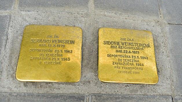 První zlínské Kameny zmizelıch se objevily na Rašínově ulicie v létě 2021.