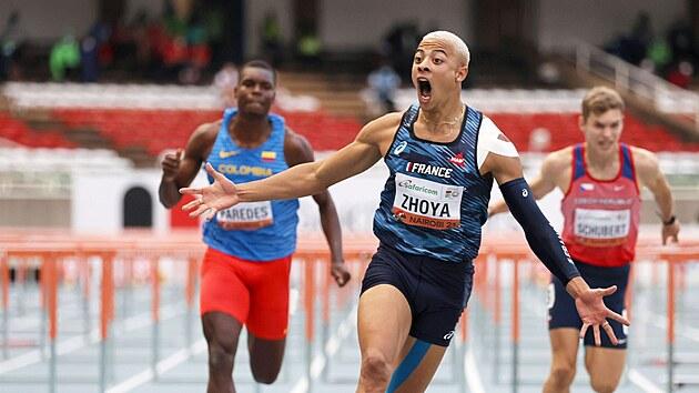 Sasha Zhoya právě na MS juniorů v Nairobi vırazně překonal světovı rekord na...