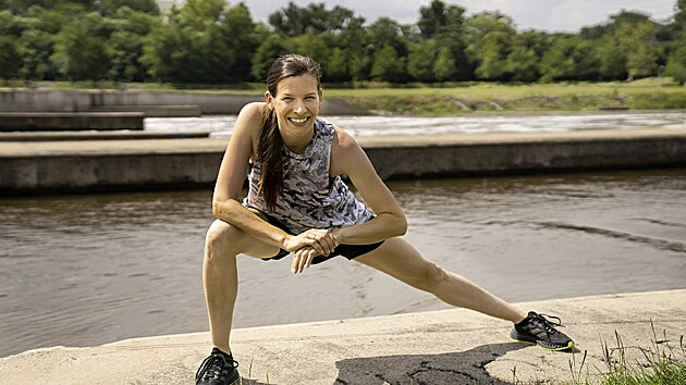Trenérka adidas Runners Prague Dana Pernicová obula botu Adidas 4DFWD