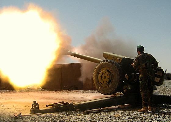 Houfnice D-30 ráže 122 mm
