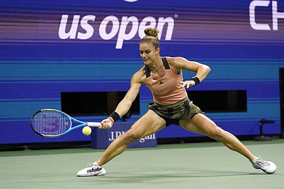 Řecká tenistka Maria Sakkariová ve čtvrtfinále US Open