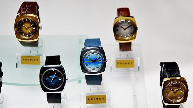 V Technickém muzeu v Brně jsou k vidění náramkové hodinky převážně značky Prim, ale i kapesní nebo kuchyňské hodiny. V pětadvaceti vitrínách je vystavenıch přes 300 exponátů, z toho kolem 150 kusů hodinek.