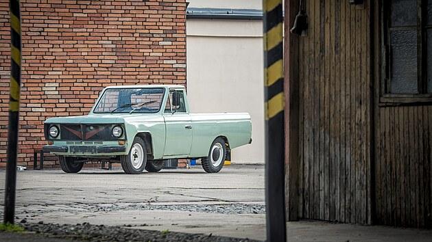 Škoda 1202 Kamyonet