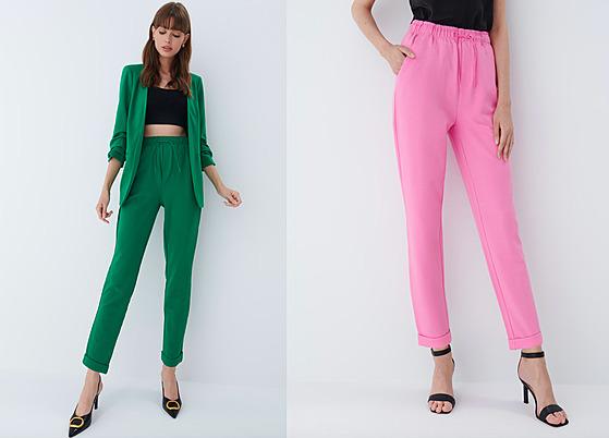 V kolekcích objevíte v hojném zastoupení také kalhoty joggers. Jde o kousek...