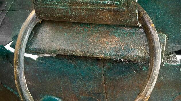 Tři tisíce let staré vědro bylo nalezeno v roce 2017 nedaleko Sezemic.