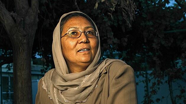 Habiba Sarabi byla první ženou, která byla v historii Afghánistánu jmenována guvernérkou.