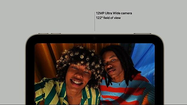 Kamera iPadu mini pro rok 2021