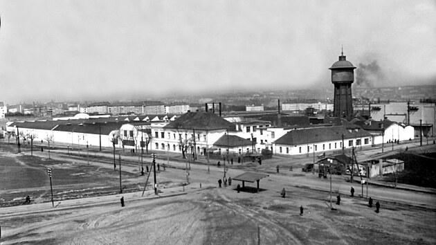 Továrna Jawy na pražské Pankráci