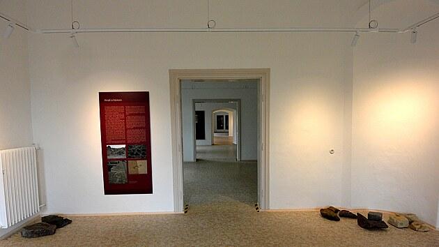 Pilotní expozice na hradě Rychmburk je věnována historii.