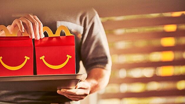 Společnost McDonald's chce do roku 2025 nabízet udržitelnější hračky vyrobené z vırazně menšího počtu plastů