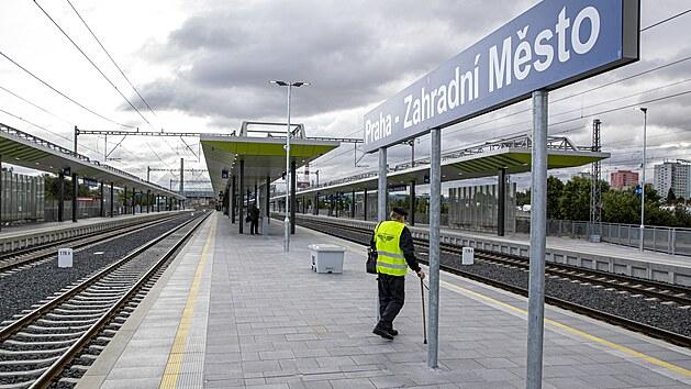 Slavnostní otevření nové stanice Praha-Zahradní Město. (24.9.2021)