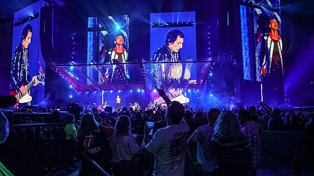 Rolling Stones na zahajovacím koncertu amerického turné No Filter 2021